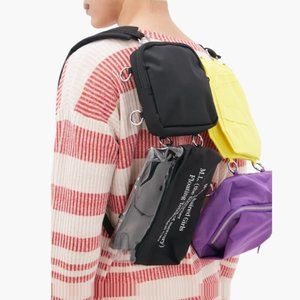Raf Simons Printed technical-canvas backpack